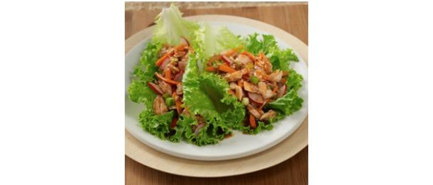 Asian Tuna Lettuce Wraps